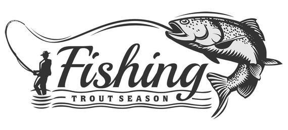 Fish Logo #38, Fish On Svg, Fish Hunting, Fishing Svg ...