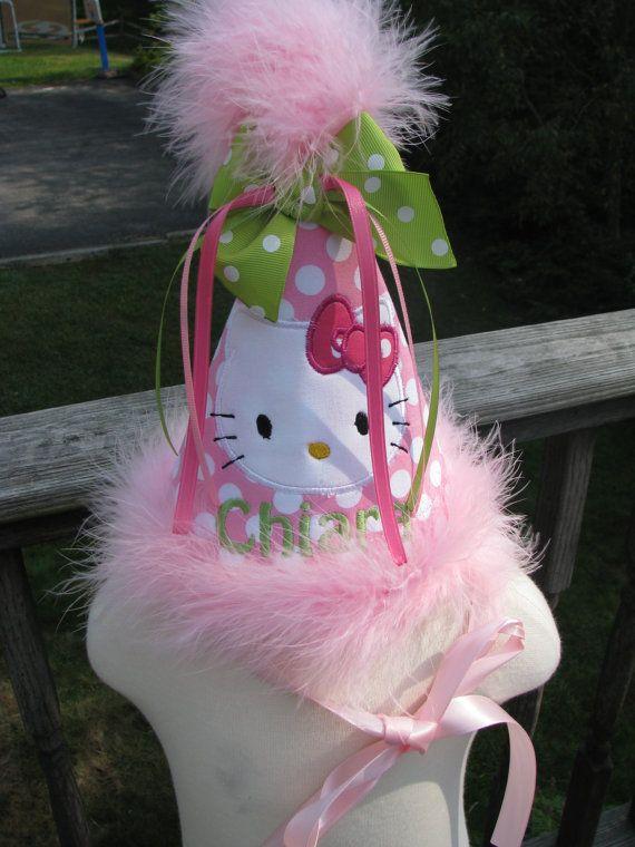 hello kitty  birthday hat