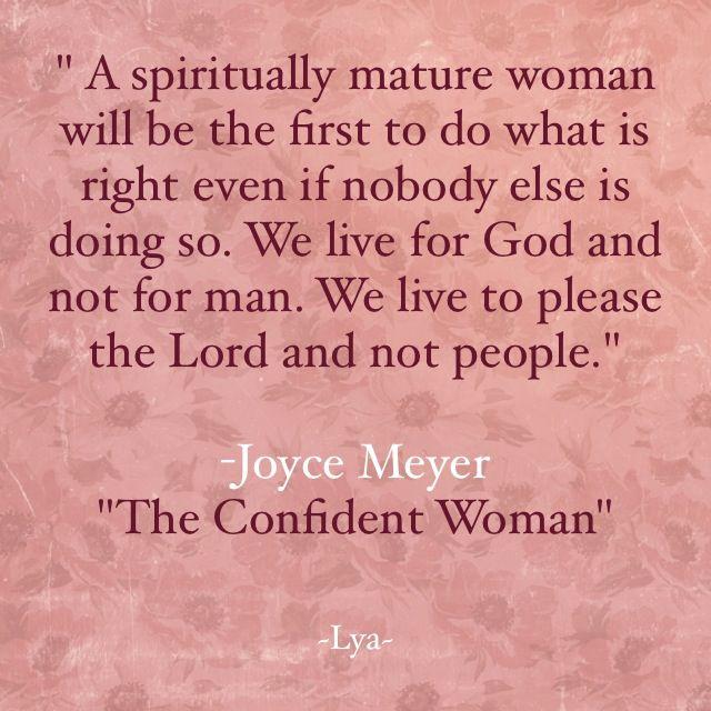 Woman Of Faith Quotes: A Spiritually Mature Woman...