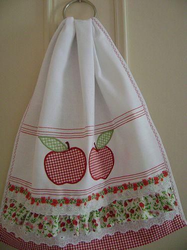 Adorable cup towel