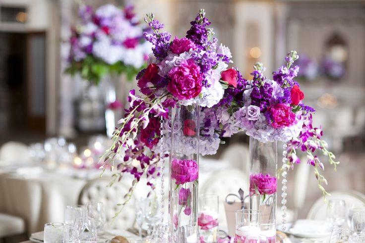 Best purple pink weddings images on pinterest