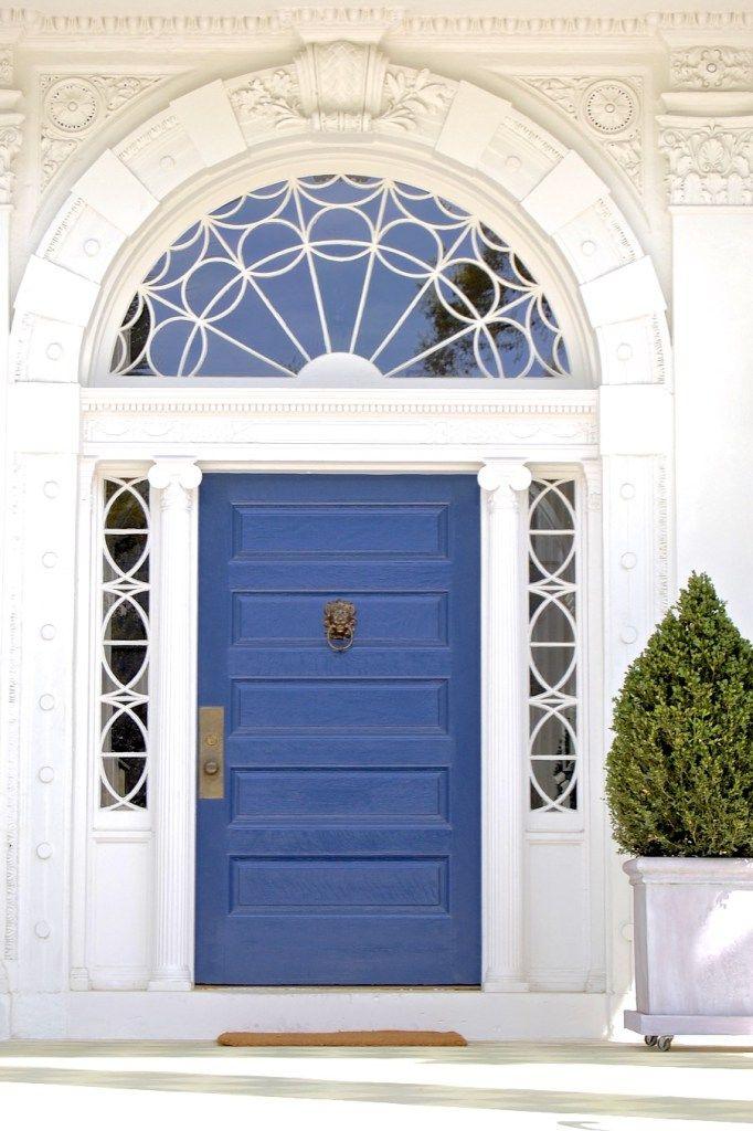 Blue Front Door 104 best colorful front doors images on pinterest | doors, windows