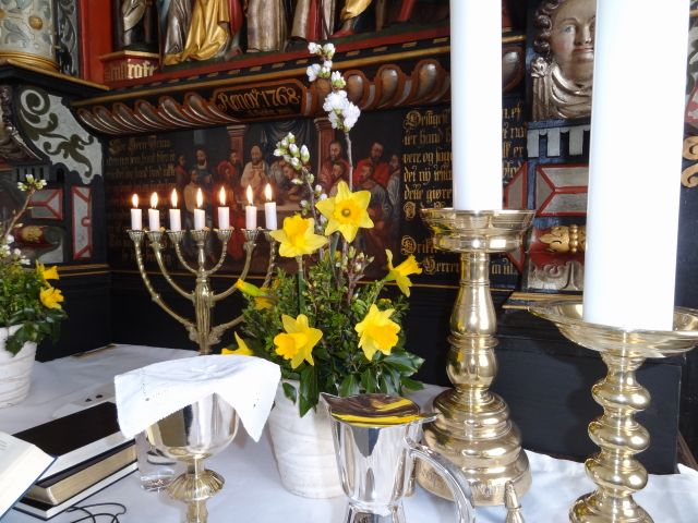 Påskens alter i Halk Kirke, Haderslev Domprovsti
