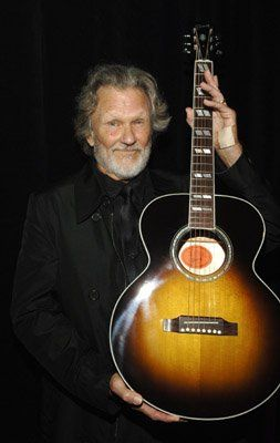 We saw Kris Kristofferson in 2012 and he was amazing! Just him and his guitar, and it was one of the best concerts i've seen!