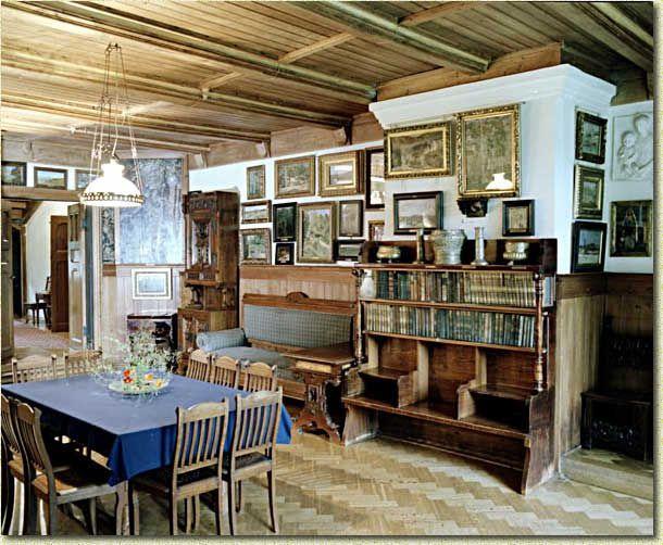 Музей-заповедник Василия Дмитриевича Поленова (Поленово) в Заокском районе Тульской области