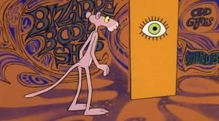 pink panther psychedelic eye - Buscar con Google