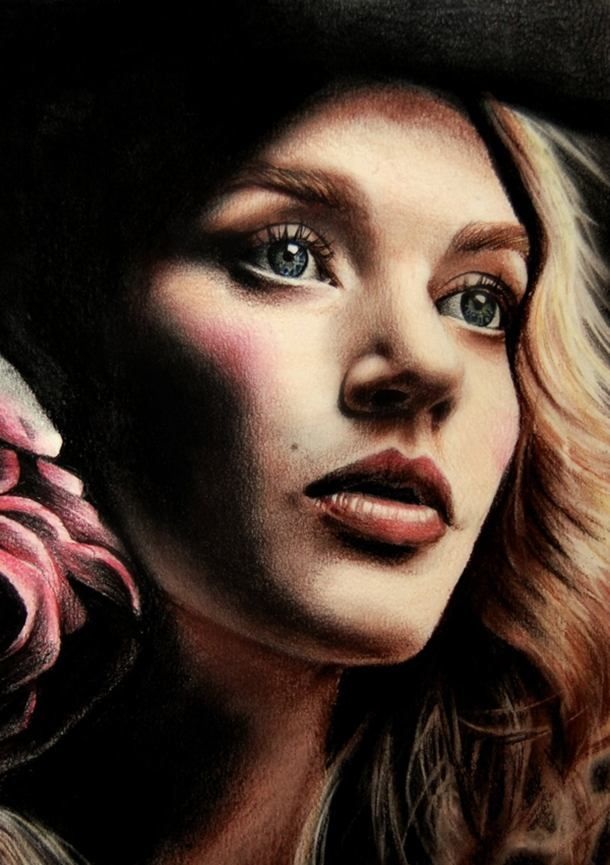 Lookout Color Pencil Drawing By Valentina Zou