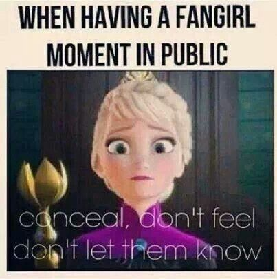 Pfft, I don't even try. If people don't wanna see me fangirl, then I don't wanna see them.<---BLHAHHAHAHAHHA