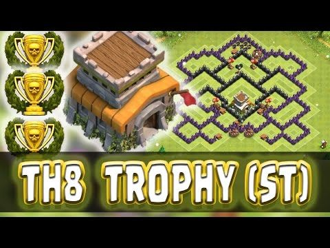 clash of clans th8 resource base 2015
