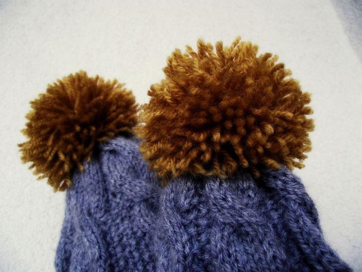 Boys beanies (4 y.o.boy, 6 m.o. baby boy), acrylic, Elian Klassic, yarn needles 3 and 3,5 mm