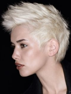 Wish I could have pulled this off with short hair