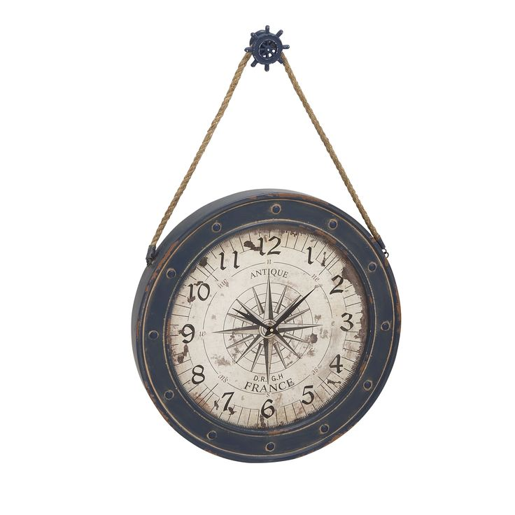 and Wood Wall Clock