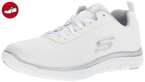Skechers Damen Flex Appeal 20-Break Free Outdoor Fitnessschuhe, Weiß (Wsl), 35 EU - Sketchers schuhe (*Partner-Link)