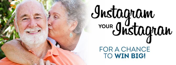 Instagram your Instagran in honour of National #GrandparentsDay! We're celebrating grandparents across the country by asking you to share your best photos of your grandparents, past or present, on Instagram using the hashtag #bayshoregran for a chance to win a grand prize of travel reward miles. Don't wait, share your photos today — the call for entries will close on Sunday, September 15th.
