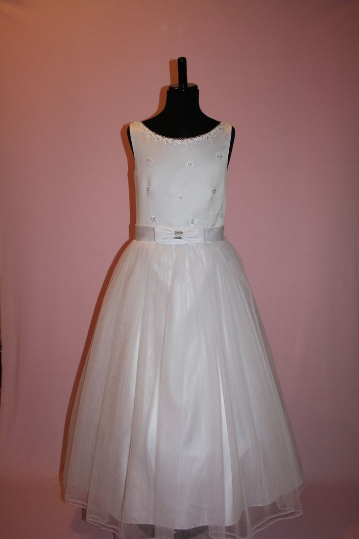 First Communion/Flower Girl Dresses from Silk n Satin Communion Dresses. $75 https://silknsatincommuniondresses.com.au/product/sarah-2/