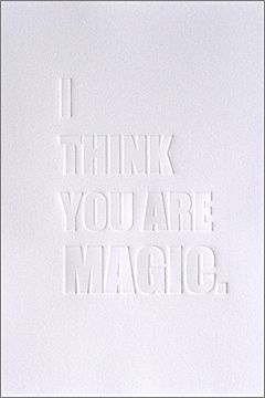 i think you are magic poster by flora and henri