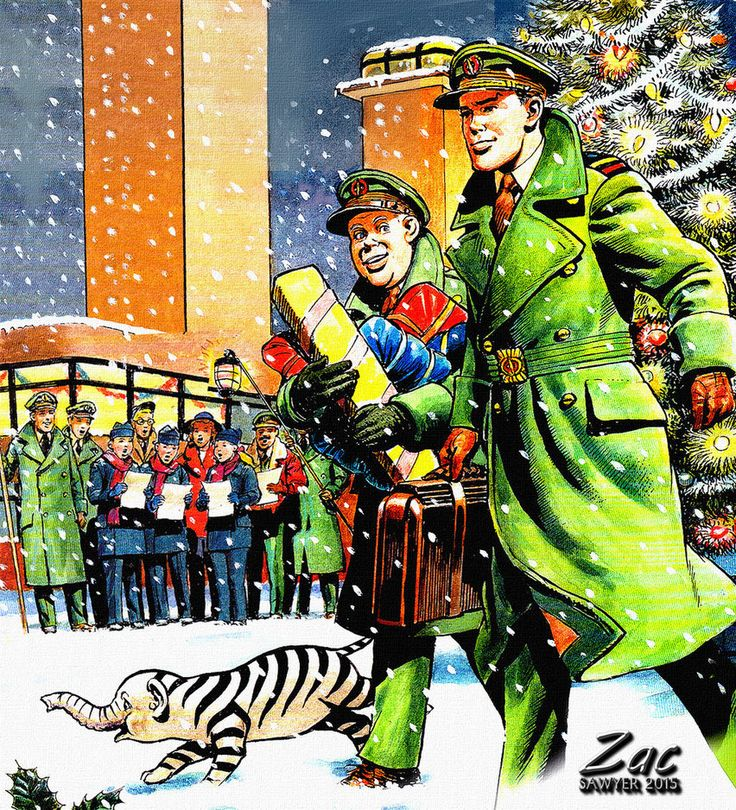 Dan and Digby at SFHQ at Christmas - Zac Sawyer by Zacsawyer on DeviantArt