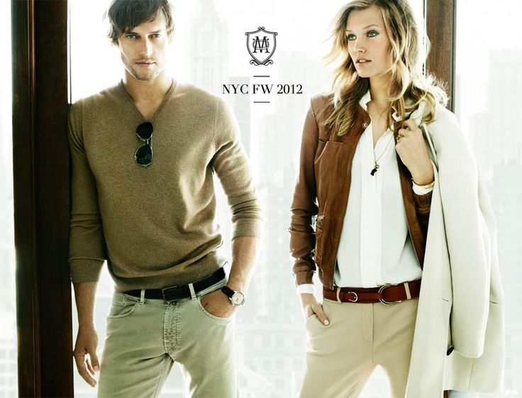 Toni Garrn Fronts Massimo Duttis Fall 2012 Campaign by Mario Testino
