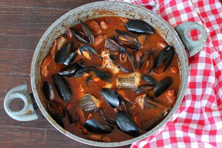 Zuppa di pesce cucina italiana pinterest for Cucina italiana pesce
