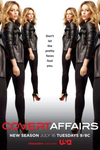 Watch Covert Affairs Episodes Online