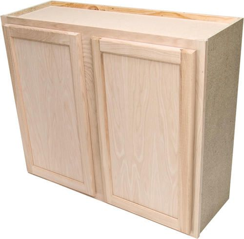 quality one 36 x 30 unfinished oak standard wall cabinet on wall cabinets id=23354
