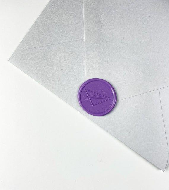 Plane Wax seal Sticker