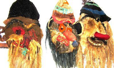 "ROMANIA: A. C. FOTOBLOG: Romanian masks, ""Nicolae Popa"" museum, Neamt"