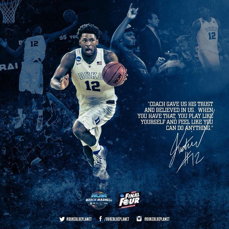 Justise Winslow quote - Duke 2015