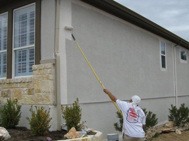 Acrylic Vs Latex Paint >> Ask The Painter: How should I repaint my stucco exterior? (With images) | Stucco, Stucco ...