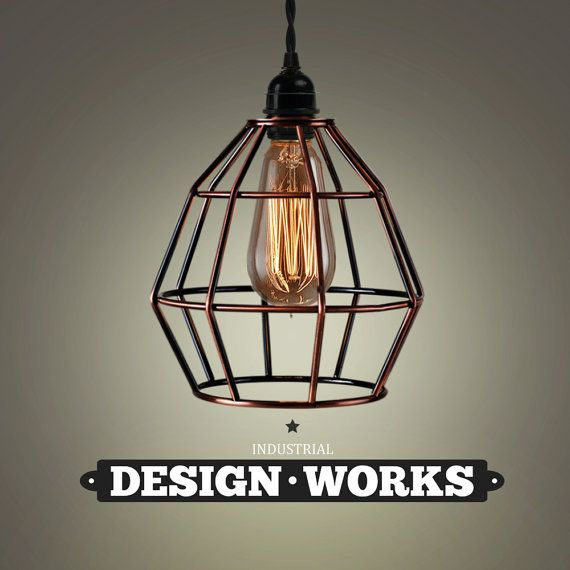 Industrial Lighting Copper Lighting Style by IndustrialDesignGB