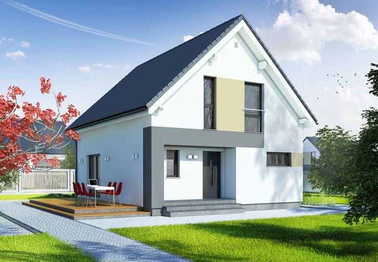 Eineinhalbgeschossige Häuser - DAN-WOOD House schlüsselfertige Häuser