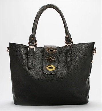 Black Large Travel Carry All Tote - $36.90: Clothing, All