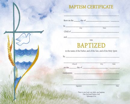 7 best Baptism images on Pinterest Certificate, Certificate - sample baptism certificate template