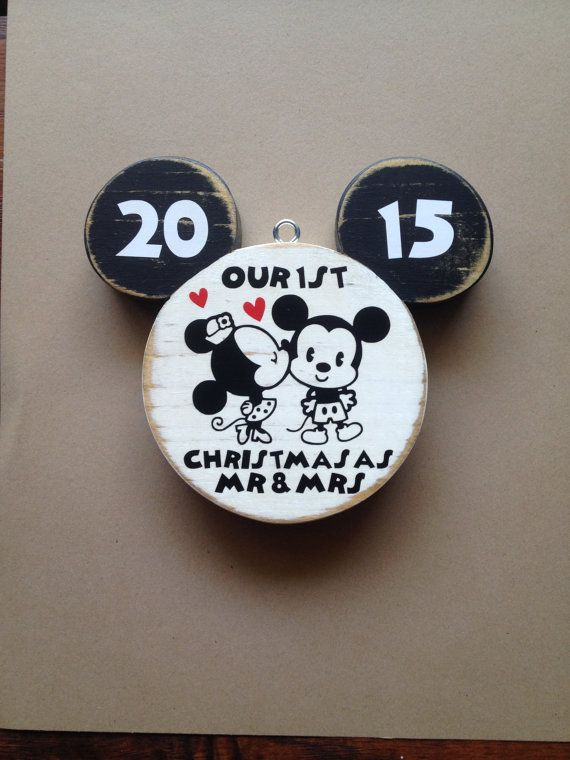 242 best celebrate simply images on pinterest disney christmas our first christmas ornament disney wedding by celebrateornaments junglespirit Images