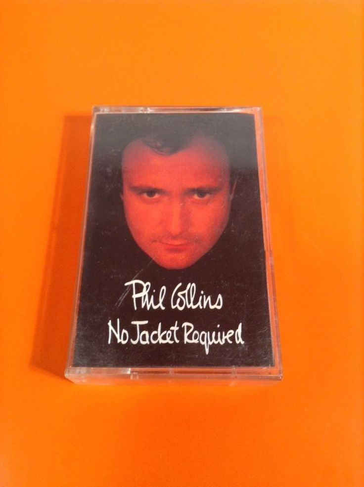 No Jacket Required by Phil Collins (Cassette, 1985 , Atlantic (Label))