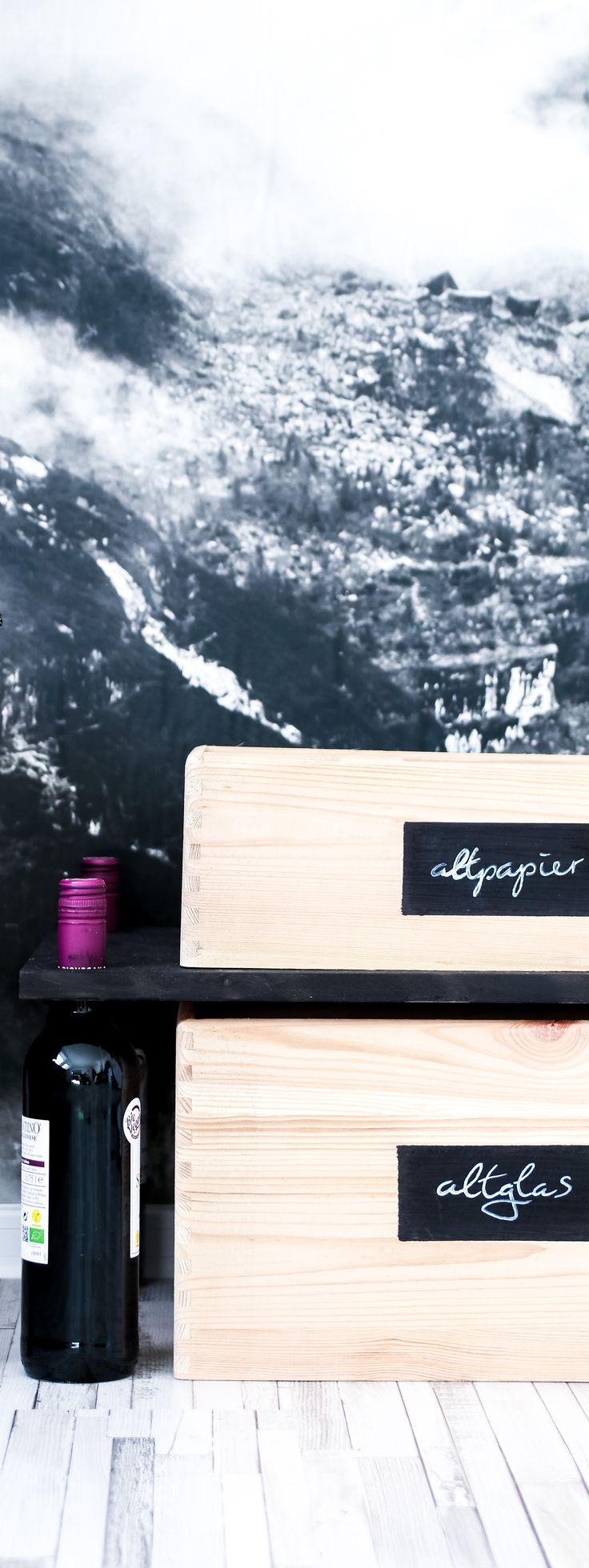 Altglas stilvoll aufbewahren – DIY Aufbewahrungs-Tisch / Regal mit Friends of Glas | Filizity.com | DIY-Blog aus dem Rheinland #altglas #glas #aufbewahrung