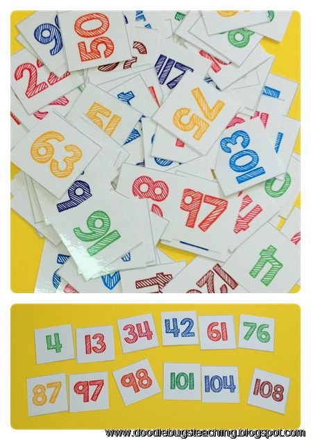 1000+ ideas about Ordering Numbers on Pinterest | 1st grade math ...