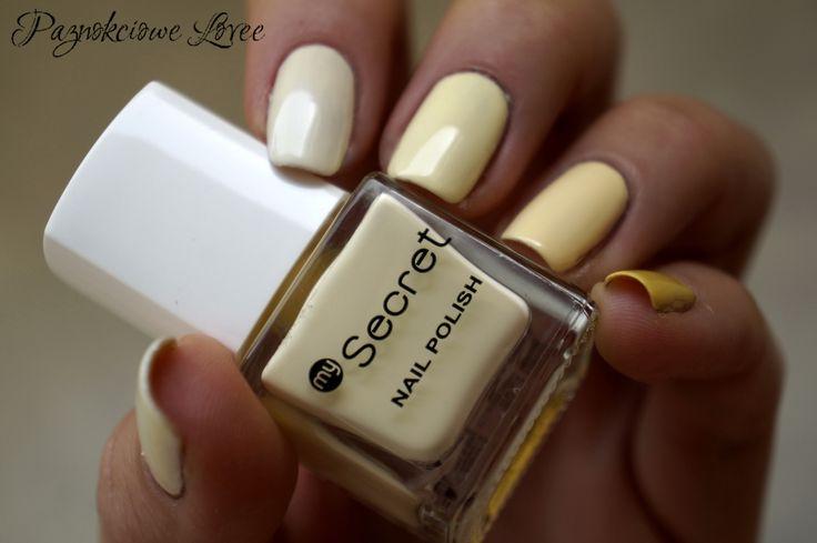 Trio Ntn #125 My secret #144 Vanilla Revlon colorstay #100 Buttercup