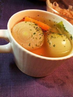初夏の一品 ペコロススープ