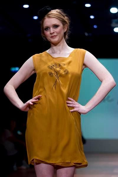 Bridie in Peony Tunic Dress at Wellington Fashion Week 2014. Spring Summer 2014  www.lovehotel.co.nz