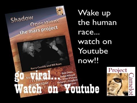 SHADOW OPERATIONS : PROJECT CAMELOT TV PILOT from 2009 - 44:30, YouTube: Re. Project Pegasus and the Mars Project.