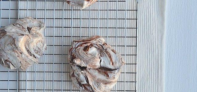 Chocolade meringues - Uit Paulines Keuken
