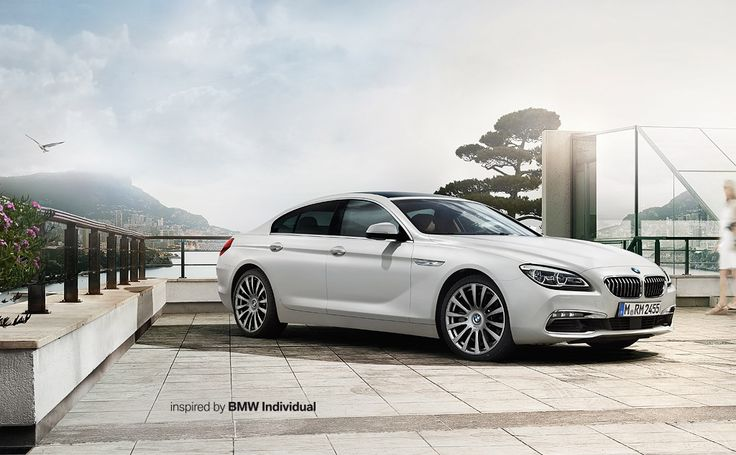 BMW 6 Series Gran Coupé: Start page