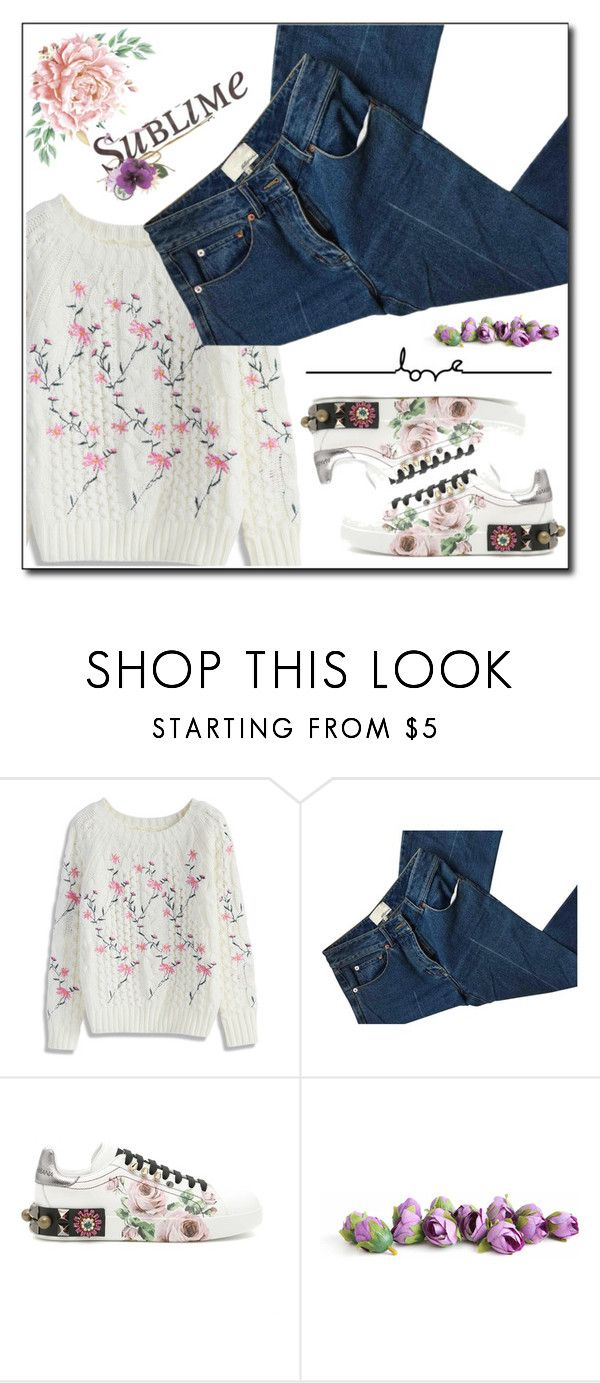 """Been waiting for you to make a move"" by holography ❤ liked on Polyvore featuring Chicwish, 3.1 Phillip Lim and Dolce&Gabbana"
