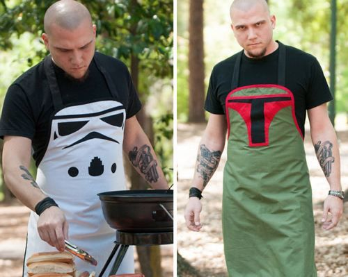 Guy Gift: Grillin' Villains   bubba fettt all the way for my boo