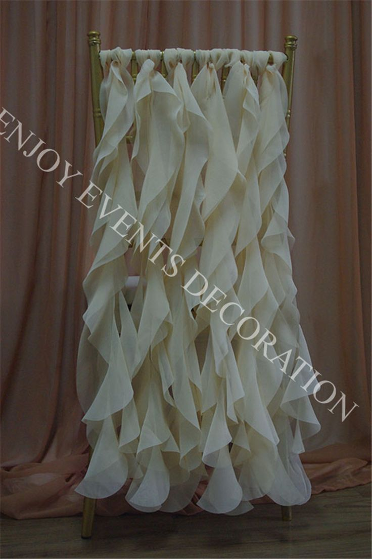 Cheap chair covers for folding chairs, Buy Quality chair photography directly from China decor dress chairs Suppliers: Elegent chiffon curly willow sashes, for any events, party and weddingNOTE:DIY sashes quantity for chair as you