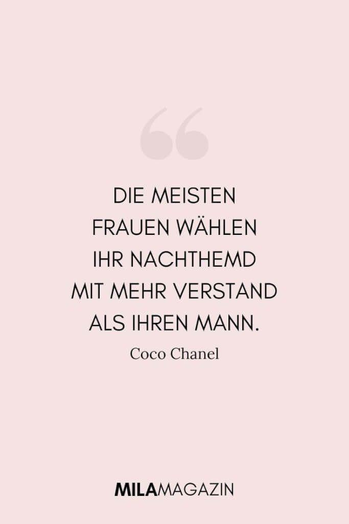 21 Coco Chanel Zitate Die Jede Frau Kennen Muss Coco Chanel Quotes Chanel Quotes Inspirational Quotes For Girls
