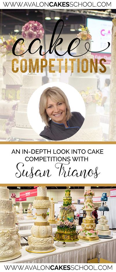 Learn all about Cake Competitions, the rules, best practices, why you should do them and more from Susan Trianos... free blog! www.avaloncakesschool.com