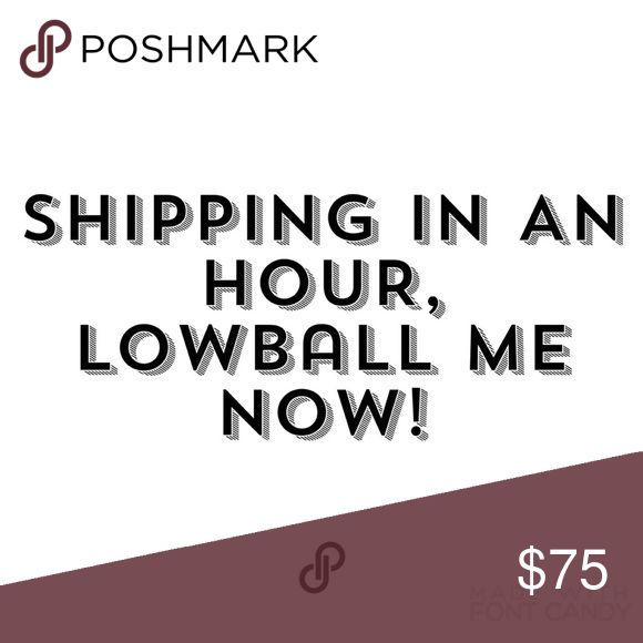 LOWBALL ME! Shipping in an hour! LOWBALL ME NOW! Insane discounts on bundles! Brandy Melville Accessories
