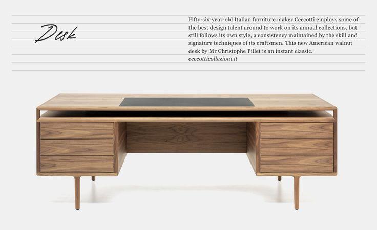 ceccotti: Desk Ceccotti, Non Barbie Dream, Steel Tube, 00 Ff Desk, Interior Study Room, Ceccotti Desk, Accent Furniture